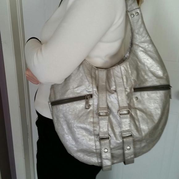 Matt & Nat Silver Shoulder Bag